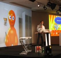 c2 - animation mascotte live 2